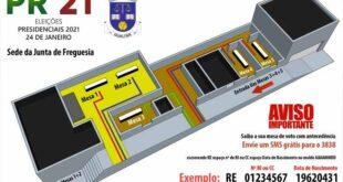 Braga: População de Gualtar pode marcar mesa de voto através de sms