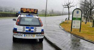 Polícia Municipal de Braga veda parques em Sequeira