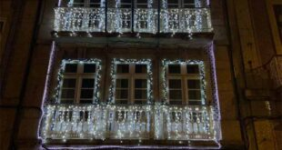 Junta de Braga mantém iluminação de Natal em protesto contra falta de luz pública